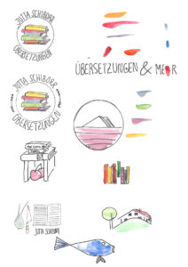 Logo Entwurf Farbe
