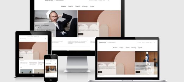 Webseite für Travel & Lifestyle Blog