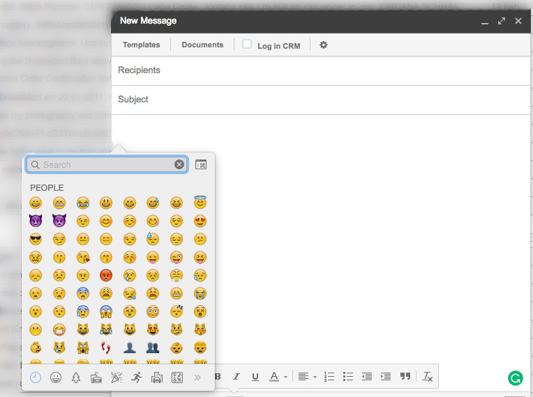Emojis in Emails