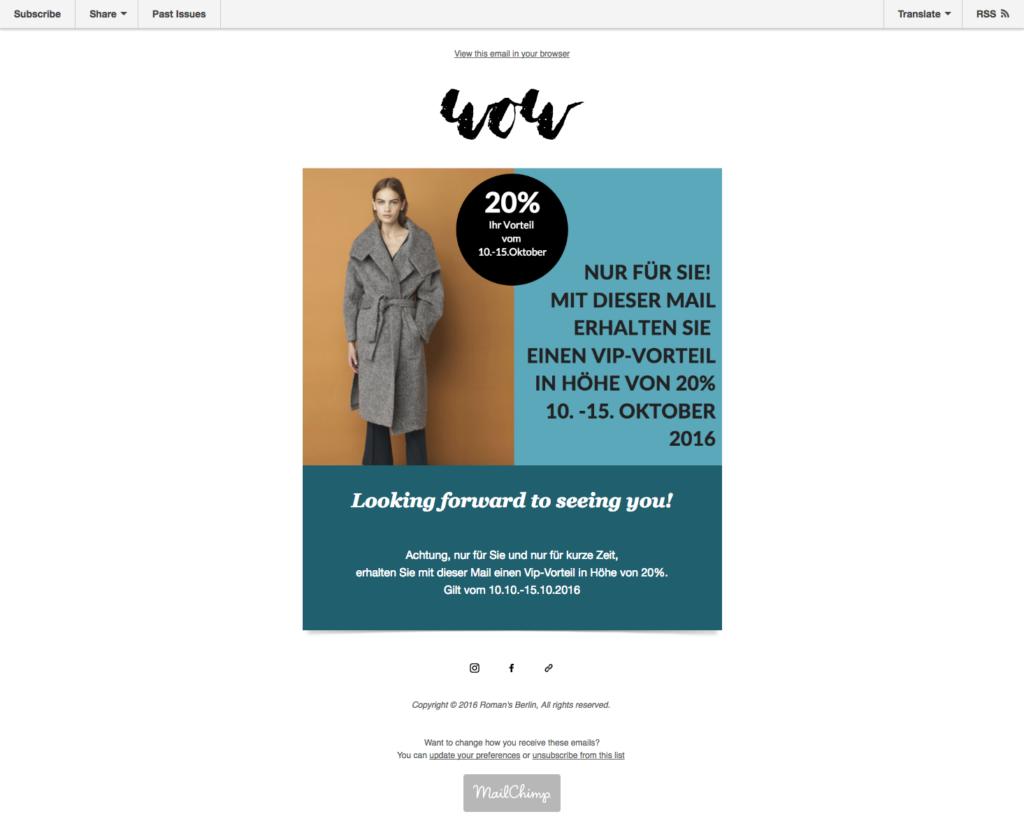 Newsletter Sales
