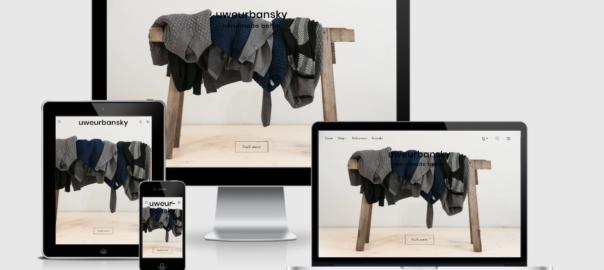 Webshop für Uwe Urbansky