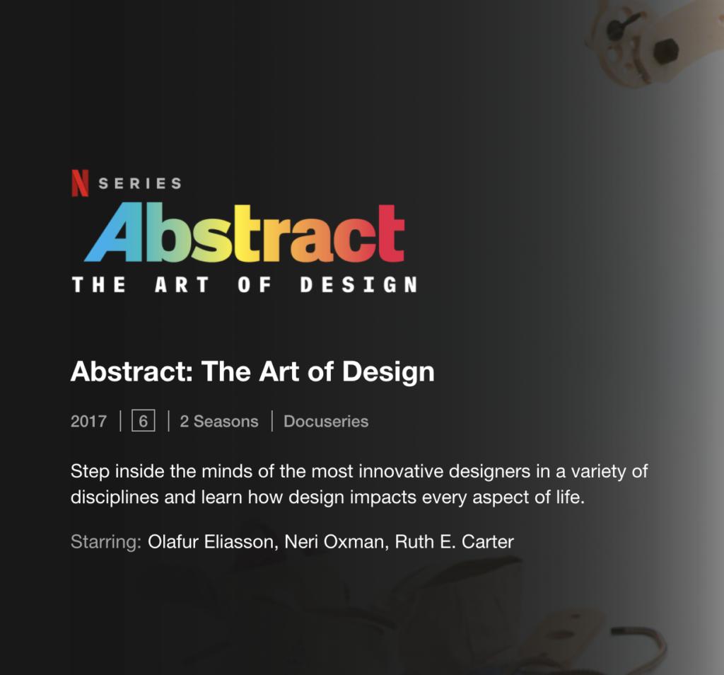 Abstract_Netflix Serie