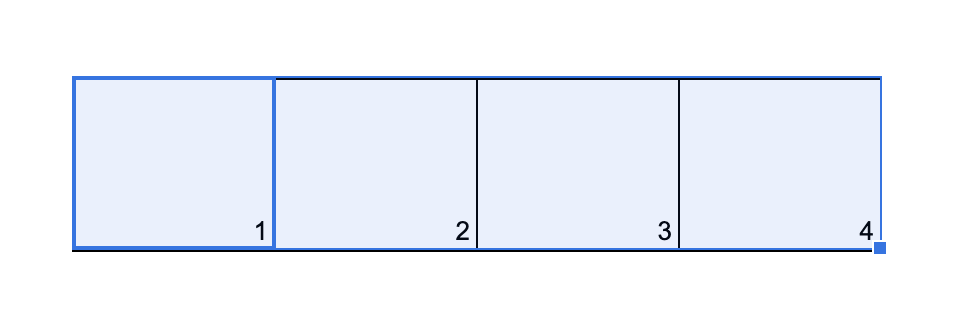 Google Tabelle fortlaufend nummerieren