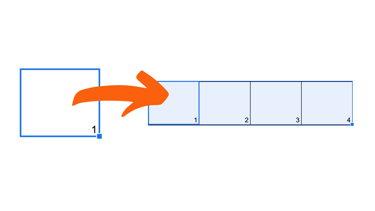 Fortlaufende Nummern in Google Tabellen
